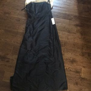 Ann Taylor strapless evening gown